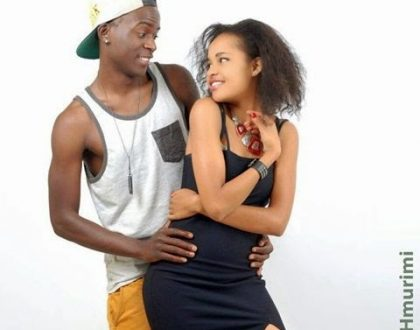 Willy Paul with ex, Michelle Dyer