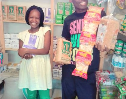 Blessings on Blessings: '100 shilling couple' reveal they are expecting their first child, checkout the grown baby bump (Photos)