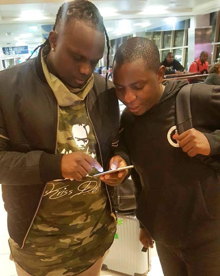 Samuel Abisai with Kris Darling