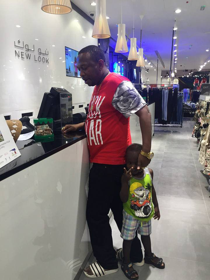Mike Sonko's splashes unknown amount to give his son the best birthday as he turns 5 years (Photos)