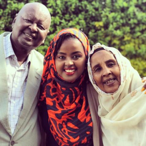 Amina's parents