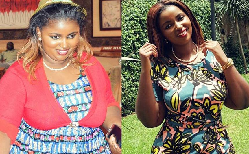 Anerlisa Muigai hits back at fat shamers who trolled her when she was overweight (Photos)