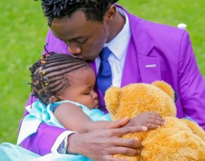 No DNA needed: New adorable photo of Bahati and his 2 year old daughter