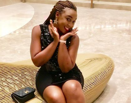 Betty Kyalo bigs up her 'Njugu guy' and social media falls in love