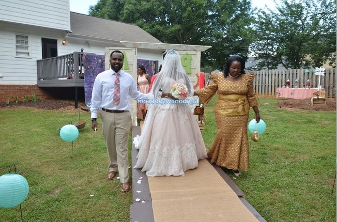 Bishop Margaret Wanjiru's multiethnic family grows bigger as her daughter exchanges vows with a Luhya man in USA (Photos)