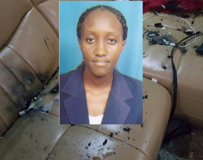 In pictures: Faces of the police officers and CS Kaimenyi's daughter who lobbed teargas into a house in Komarock causing disaster (Photos)