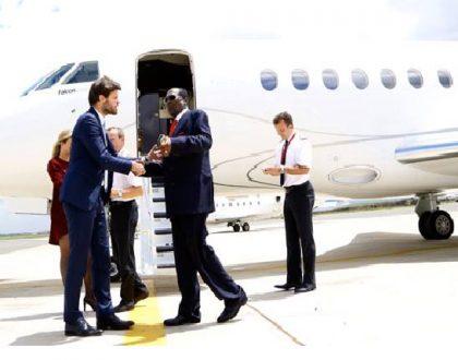 Inside the luxurious private jet that billionaire Chris Kirubi wants to buy