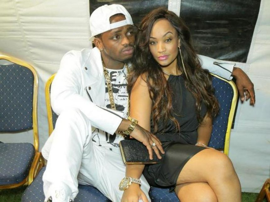 Trouble in paradise; Is Diamond Platnumz taking shots at his baby mama in his latest photo?