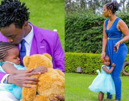 Bahati and Diana Marua retreat to Zanzibar after causing a storm with Baby Mueni (photos)