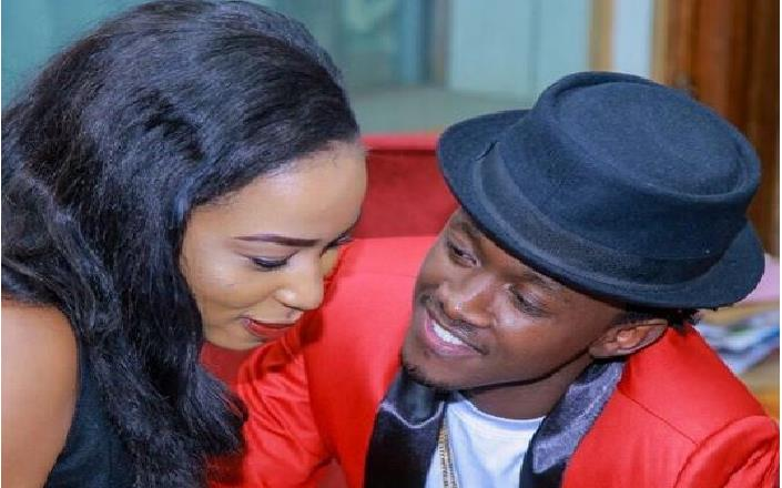 Bahati's fiancé steps out with no makeup, fans claim she looks like a different person (Photos)