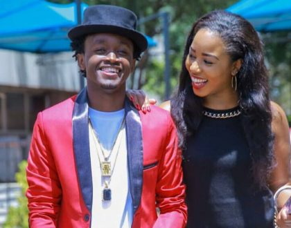 Bahati and Diana Marua slay in a new photo shoot taken in the middle of road (Photos)