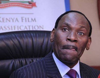 Ezekiel Mutua shows Kenyan media the middle finger as he successfully kicks out alcohol advertising from TV screens (Photos)