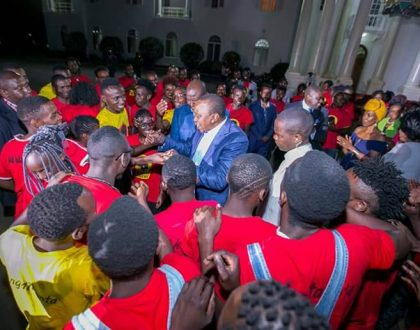 Sad! Rachael Shebesh loses one of her beloved 'sons' who sang for President Uhuru at State House (Photos)