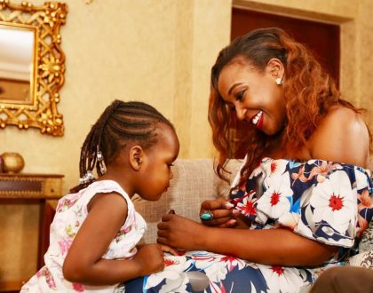 Proof that Betty Kyallo's daughter looks more like her daddy  (Photos)