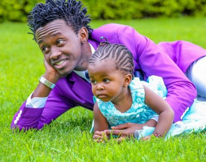 A photo of Bahati's baby mama emerges online, meet the lovely lady
