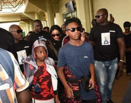 Ivan's family blames Zari Hassan for their sons death and demand DNA for her 3 sons