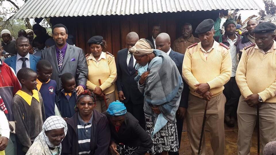 City pastor Godfrey Mwigi