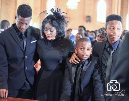 """""""You might not be physically here but you will forever be remembered"""" Zari Hassan beautiful message to her late husband"""
