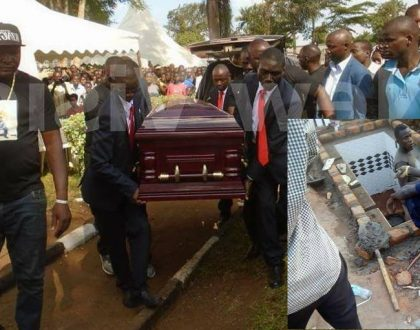 Ivan Ssemwanga's final resting place DOES NOT befit a fallen tycoon known for flamboyance (photos)