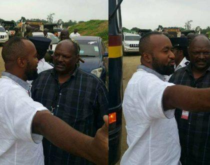 Hassan Joho blocked from attending SGR launch at Miritini by President Uhuru Kenyatta (photos)