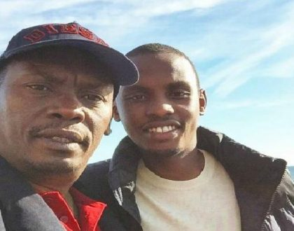 Governor William Kabogo's son explains the middle finger he showed Kenyans after Kiambu voters chose Ferdinand Waititu over his father