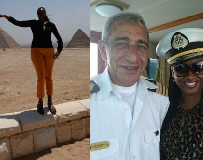 Best vacation ever! Kanze Dena cruises on Egyptian presidential yacht (Photos)