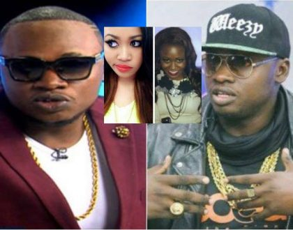 """Tulitoa tint"" Khaligraph shares a photo he posed with Vera Sidika back then when they were both dark skin (Photos)"
