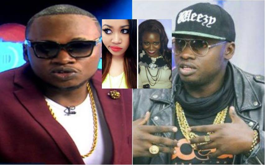 """""""Tulitoa tint"""" Khaligraph shares a photo he posed with Vera Sidika back then when they were both dark skin (Photos)"""