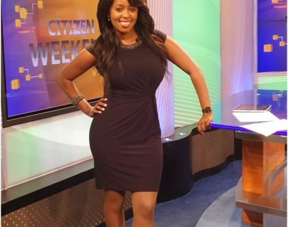 Inside Lilian Muli's fancy living room
