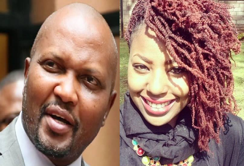 Miss Kenya 2015 Charity Mwangi opens up about her relationship with Moses Kuria