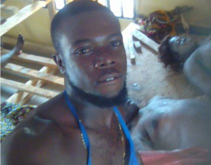 Swaggerific mortuary attendant cause public panic after he was seen taking selfies with dead bodies