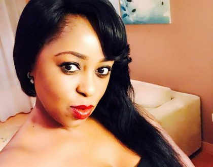 Lillian Muli steps out in an extremely tiny shorts to flaunt her beautiful legs (Photos)