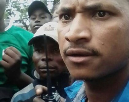 Shock as Babu Owino attacks GSU officers after winning Embakasi East nomination