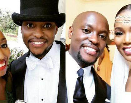 Grace Msalame's ex husband Paul Ndichu finally marries his sweetheart in a glamorous white wedding ceremony