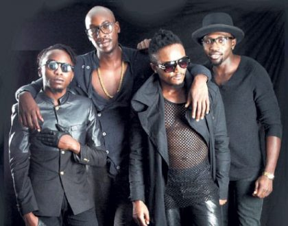 Dapper Sauti Sol steps out in sharp suits for their new photo shoot