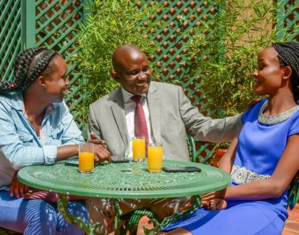 SportPesa mid-week jackpot winner Alfred Madanji apportions part of Kes 81 million he won to his married daughters