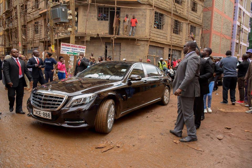 SportPesa CEO Ronald Karauri personally drives to Roysambu to meet Samuel Abisai -  Kes 221 million mega jackpot winner (Photos)
