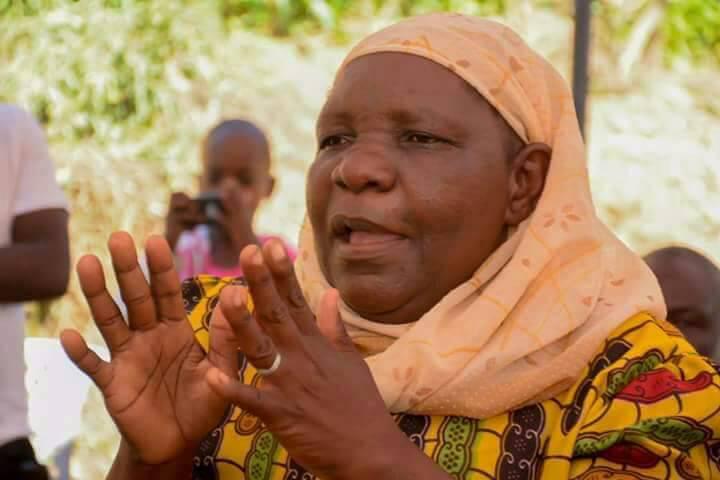 Samuel Abasai's mum