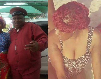 Papa Shirandula's Wilbroda gets rid her house wife dress to slay in a hot bikini (Photos)
