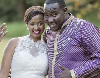 10 photos of Willis Raburu's beautiful newlywed wife Mary Ngami Irungu