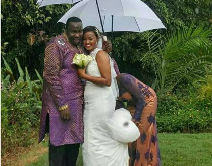 Citizen TV's Willis Raburu secretly weds Mary Ngami Irungu in a small private wedding