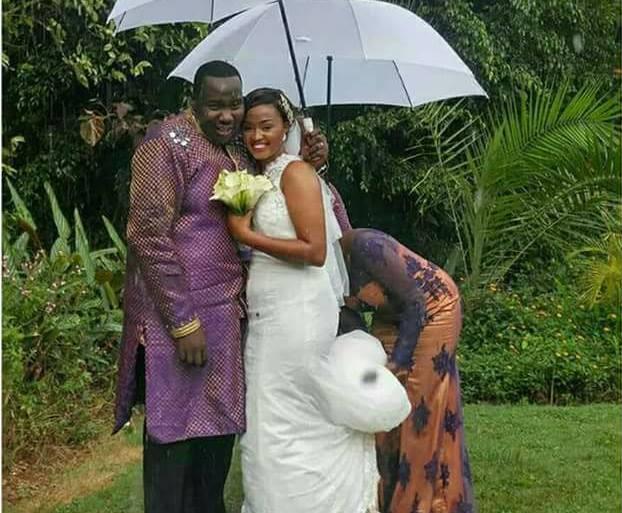 Citizen TV's Willis Raburu secretly weds Mary Ngami Irungu in a small private wedding
