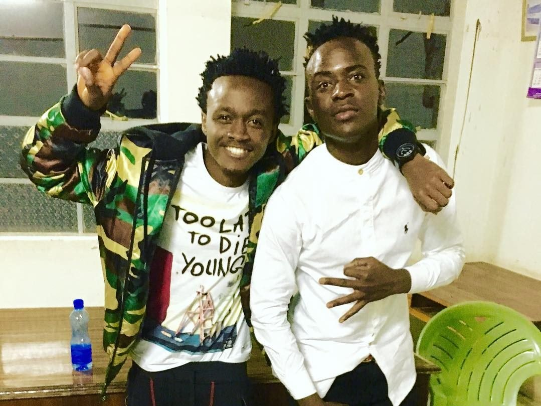 Bahati discloses secret behind his longterm friendship with Willy Pozee
