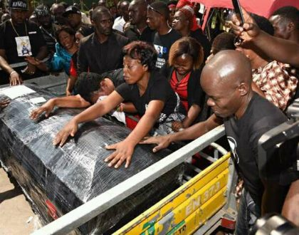 The wails, the posh cars and the billionaires… Entebbe airport shut down as Ivan Ssemwanga's body arrives in Uganda (Photos+video)