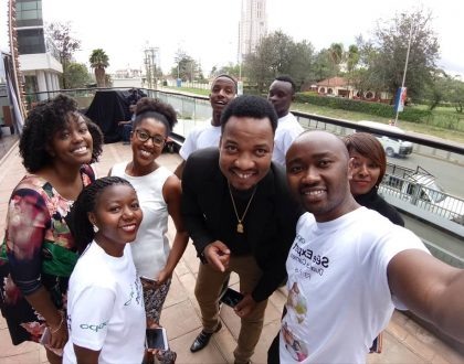Why Kenyan celebs are running after OPPO F3 – Dual Selfie Camera Phone (Photos)