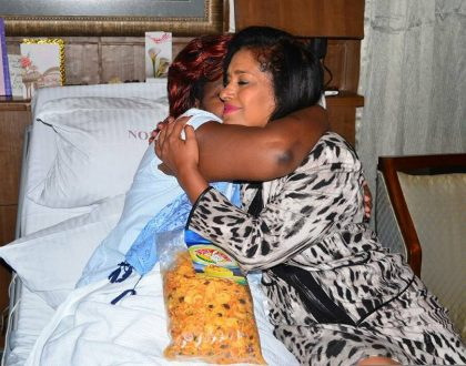 8 photos of a sickly Rachel Shebesh that have melted the hearts of all Kenyans whether Nasa or Jubilee