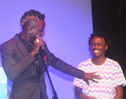 Willy Paul loses his cool and attacks event organizers after Groove Awards 2017 snubbed Bahati and him