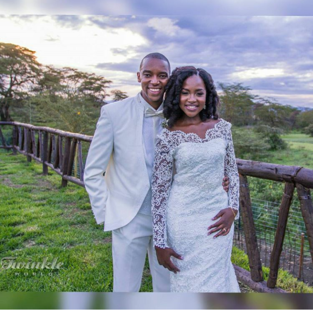 This is what Joyce Omondi did to celebrate her husband's birthday leaving many jealous