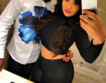 Vera Sidika's ex boyfriend bags himself a new curvy lady, check out her hot photos