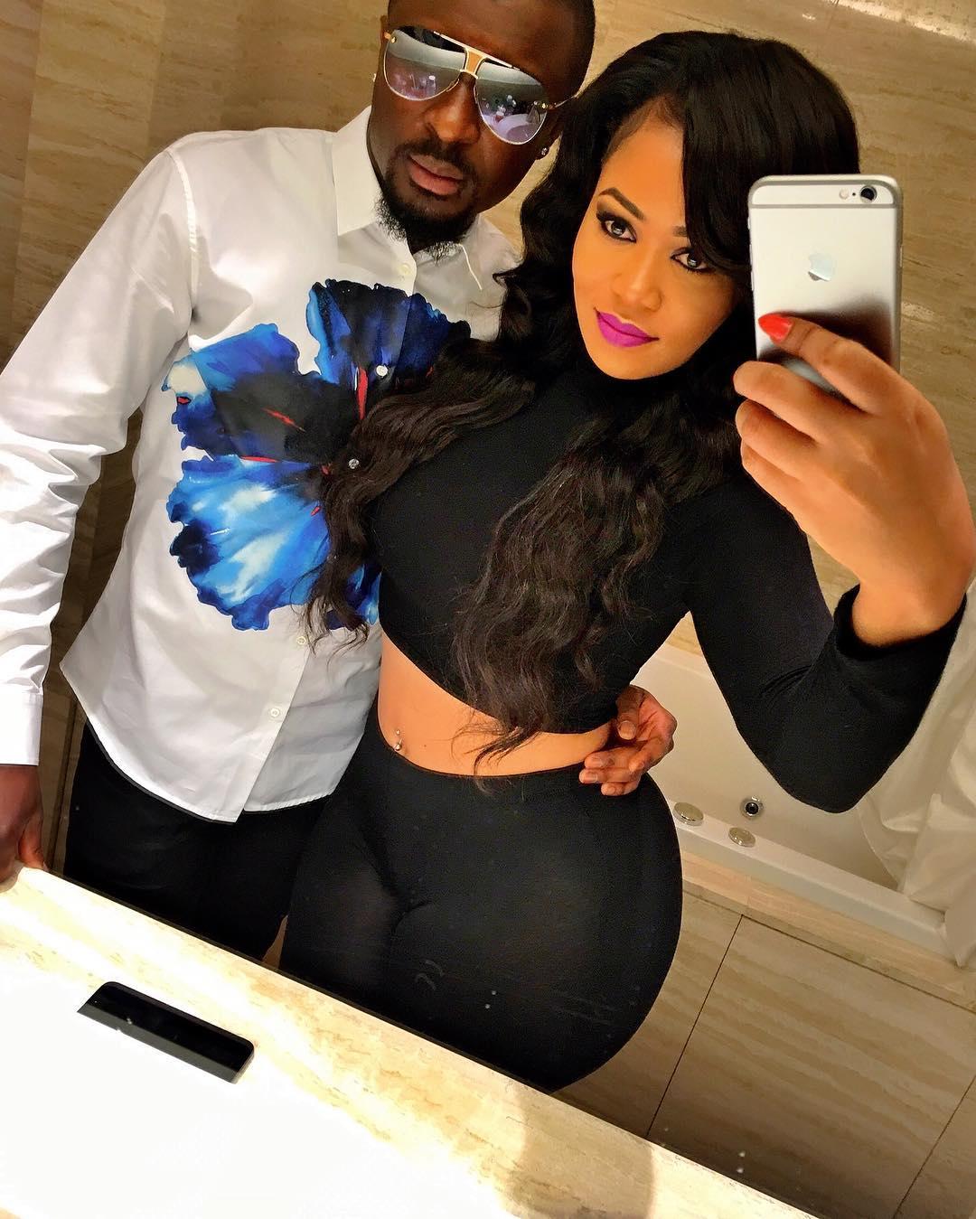 Vera Sidika's ex boyfriend bags himself a new curvy lady, check out her hot photos